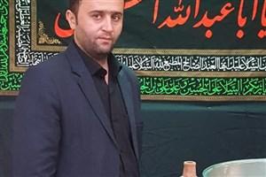 مراسم طشت گذاری ماه محرم در مسجد دانشگاه آزاد اسلامی واحد اردبیل برگزار شد+  تصاویر