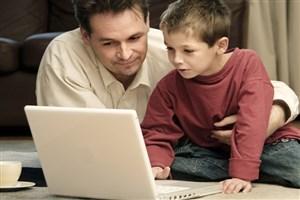 روش استفاده از فضای مجازی را به فرزندانمان بیاموزیم