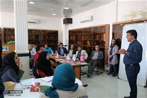 برگزاری کارگاه آموزشی جام باشگاه های کتابخوانی جنوب فارس در دانشگاه آزاد اسلامی اوز