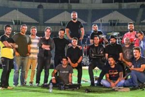 فیلمبرداری «آبی به رنگ آسمان» در استادیوم آزادی پایان یافت