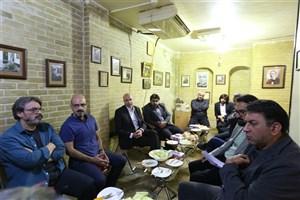 هنرمندان و مدیران از موزه صبا بازدید کردند