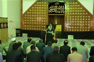 برگزاری کارگاه آموزشی همزمان با آغاز ماه محرم/ اهتزاز پرچم ماه محرم