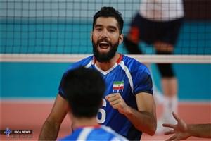 پیروزی تیم ملی والیبال ایران مقابل کوبا