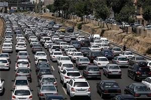 ترافیک  بسیار سنگین در محدوده پیست آبعلی