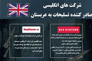 شرکت های ارسال کننده تسلیحات به عربستان کدامند؟