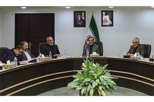مراسم تکریم و معارفه رئیس دفتر هیات موسس و امنای دانشگاه آزاد اسلامی برگزار شد