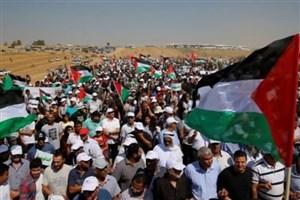 پای تظاهرکنندگان فلسطینی، هدف گلوله های اشغالگران قدس شده است