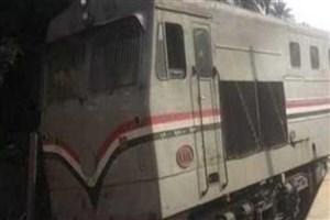 خروج قطار از ریل در مصر