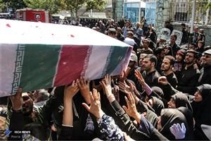 تشییع  پیکر مطهر ۷۲ شهید گمنام در سراسر کشور