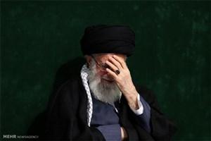 مراسم عزاداری اباعبدالله الحسین(ع) با حضور رهبر انقلاب برگزار شد