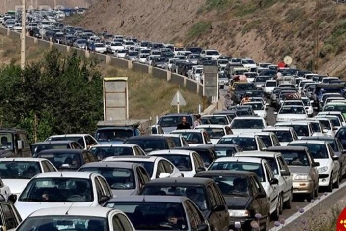 ترافیک در جاده های  شمال
