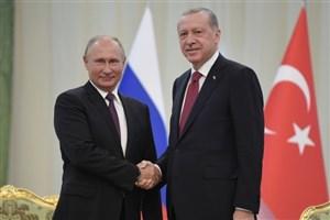 پوتین و اردوغان  در مورد ادلب گفت وگو کردند