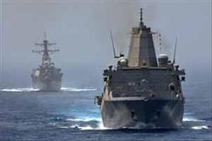 نزدیکی کشتی های جنگی ناتو به آب های سوریه