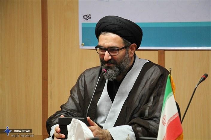 حجت الاسلام صفوی مسئول نهاد دانشگاه ازاد اسلامی استان گیلان