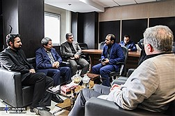حضور مدیرعامل بنیاد رودکی در ایسکانیوز