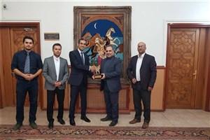 Kermanshah IAU to Develop Academic Relations with Iraq