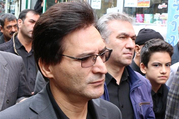 رئیس دانشگاه آزاد اسلامی اردبیل