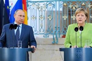 گفتوگوی تلفنی «پوتین» و «مرکل» درباره سوریه