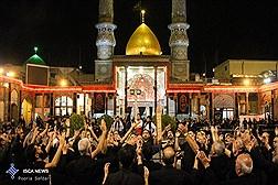 شب عاشورا در حرم عبدالعظیم حسنی - شهرری