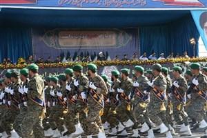 رژه بزرگ نیروهای مسلح در تهران آغاز شد