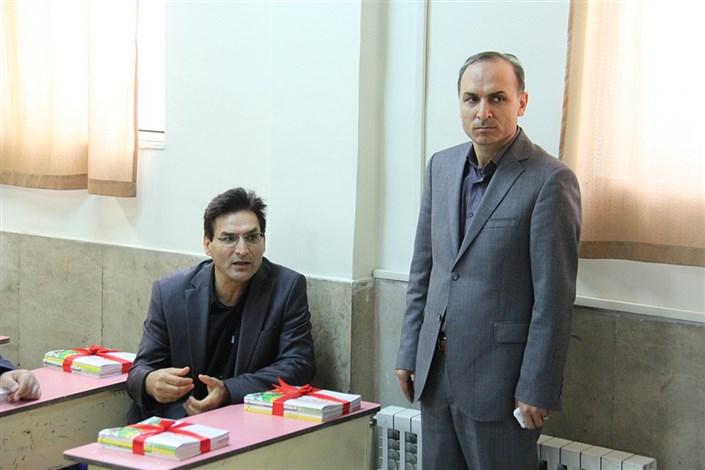 آیین بازگشایی مدارس سما واحد اردبیل