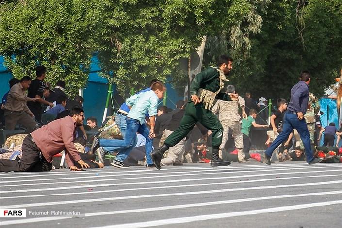 حمله تروریستی در رژه اهواز