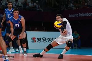 والیبالیستهای ایران حذف شدند