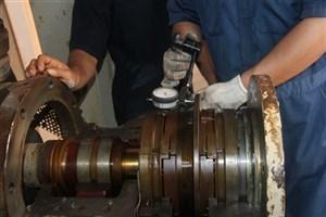 راهاندازی دستگاه توربوپمپ در تاسیسات تزریق آب منطقه سیری