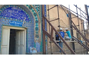 مسجد عامری اهواز مرمت می شود