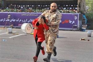 فرمانده نیروی زمینی ارتش از افسران و سرباز شجاع در حادثه تروریستی اهواز تقدیر کرد