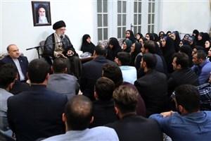 رهبر انقلاب:گوشمالی سختی به عوامل بزدل حادثه تلخ اهواز خواهیم داد