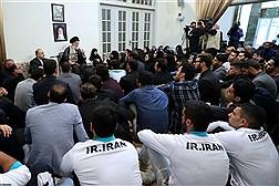 دیدار مدالآوران ورزشی ایران در بازیهای آسیایی اندونزی با رهبر معظم انقلاب