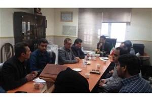 برگزاری جلسه کمیسیون دانشجویی دانشگاه ها در فرمانداری ویژه لارستان