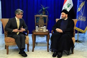 دیدار «عمار حکیم» با سفیر جدید ژاپن در عراق