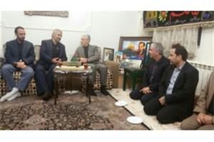 دیدار وزیر علوم با خانواده شهدای دفاع مقدس و مدافع حرم