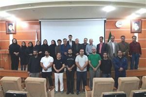 دوره استاژ کاتا در دانشگاه آزاد واحد لاهیجان برگزار گردید