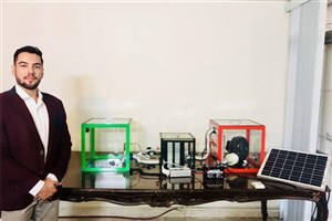 Khomeyni Shahr IAU Student Designs Smart Tree To Curb Pollution Crisis