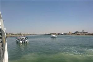 راه اندازی مسیر آبی خرمشهر _ بصره با اتوبوس های دریایی