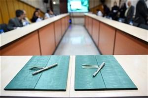 شرکت ملی حفاری و دانشگاه صنعت نفت توافقنامه همکاری امضا کردند