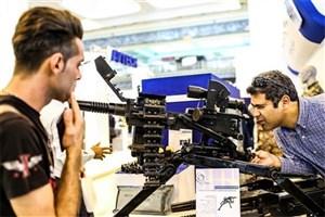 حضور مخترعان در نمایشگاهلوازم و تجهیزات پلیسی، امنیتی و ایمنی