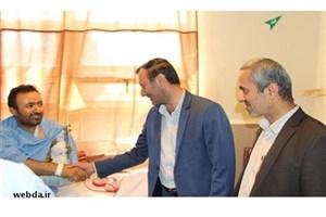جراحان بیمارستان نمازی مانع قطع عضو مجروح حمله تروریستی اهواز شدند