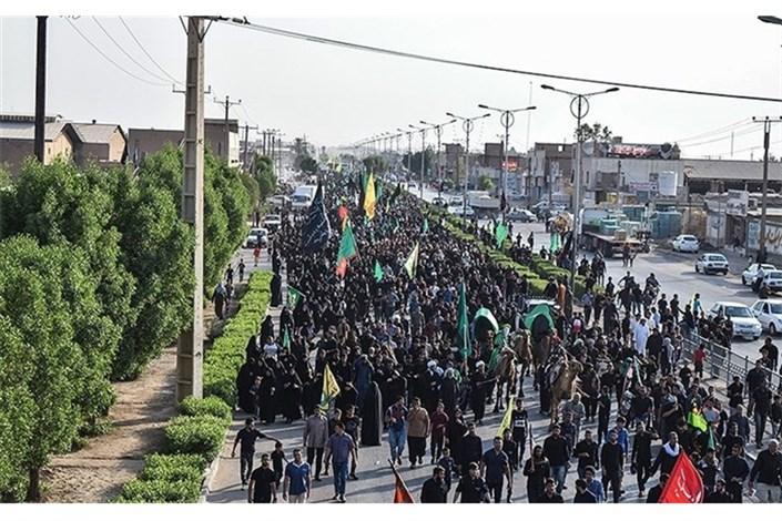حمیدیه -مسیر راهپیمایی اربعین