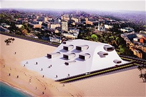 "S & R IAU Architect Designs ""Caspian Sea Museum"""