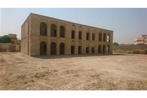 مرمت ساختمان ثبت ملی هلال احمر خرمشهرآغاز شد