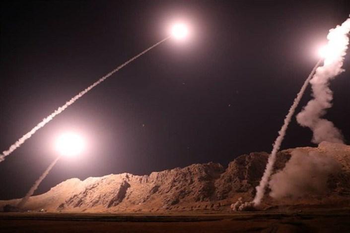 حمله موشکی سپاه