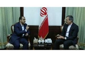 دیدار محمد عبدالسلام با جابریانصاری و رایزنی درباره آخرین تحولات مذاکرات صلح یمن