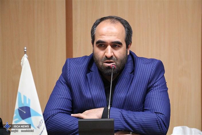 دکتر هاشمی رئیس بسیج استادان دانشگاه ازاد اسلامی کشور