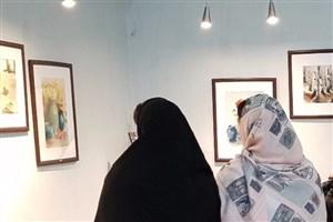 برگزاری نمایشگاه نقاشی «آب و رنگ» در شرق پایتخت