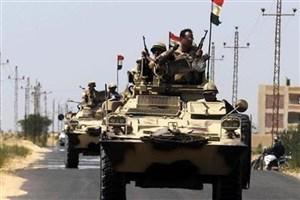 15 تروریست مسلح در صحرای «سینا» کشته شدند