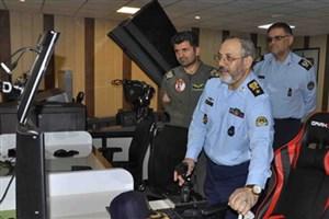 امیر نصیرزاده از پایگاه هوایی شهید بابایی بازدید کرد